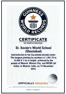 nageen-group-st-xaviers-world-school-ghaziabad-guinness-world-record